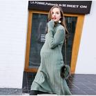 孕妇连衣裙 长款